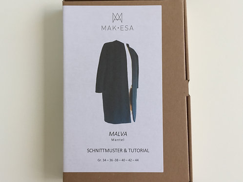 Mantel MALVA Schnittmuster von MAKESA