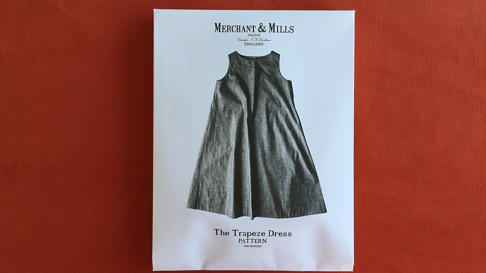 The Trapeze Dress - Schnittmuster von MERCHANT and MILLS