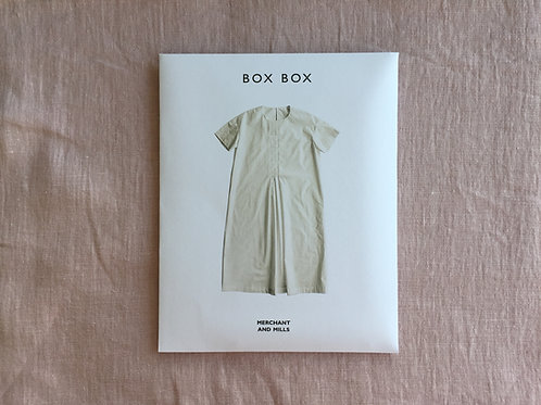 The Box Box Dress - Schnittmuster von MERCHANT and MILLS