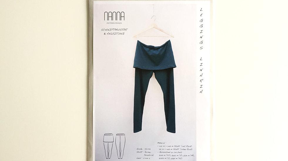 Leggings LINARIA - Schnittmuster von NANNA