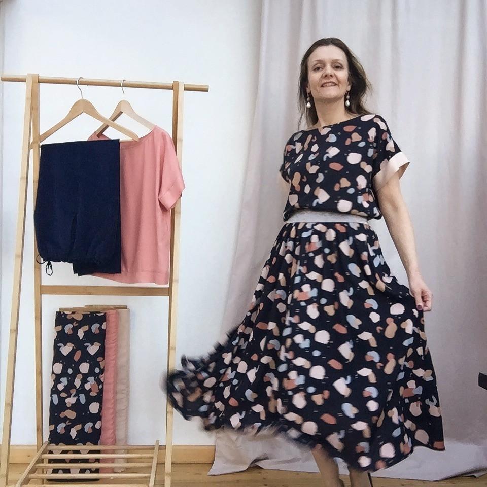Kleid aus Sophia und Bloom