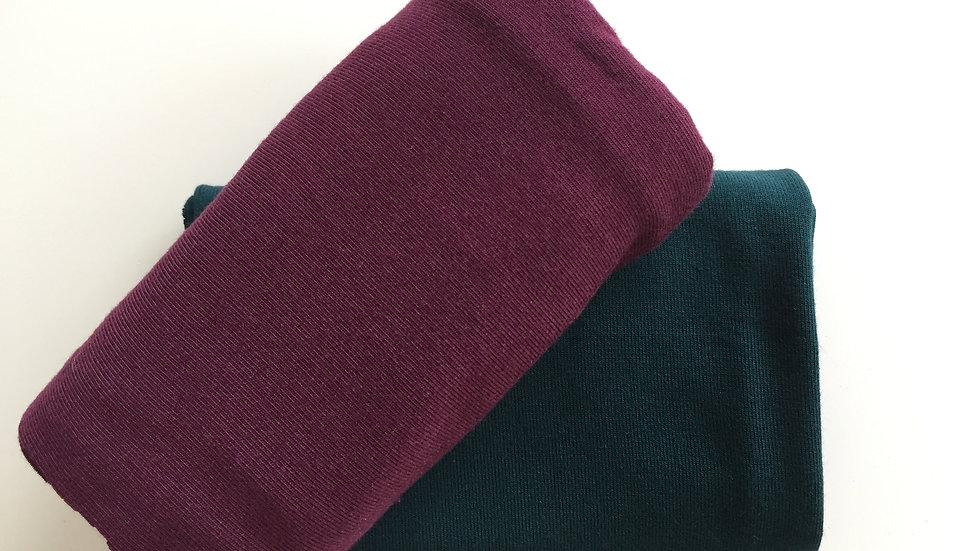 Nähpaket Modal Jersey für Kleid oder Shirt - 2 Farben
