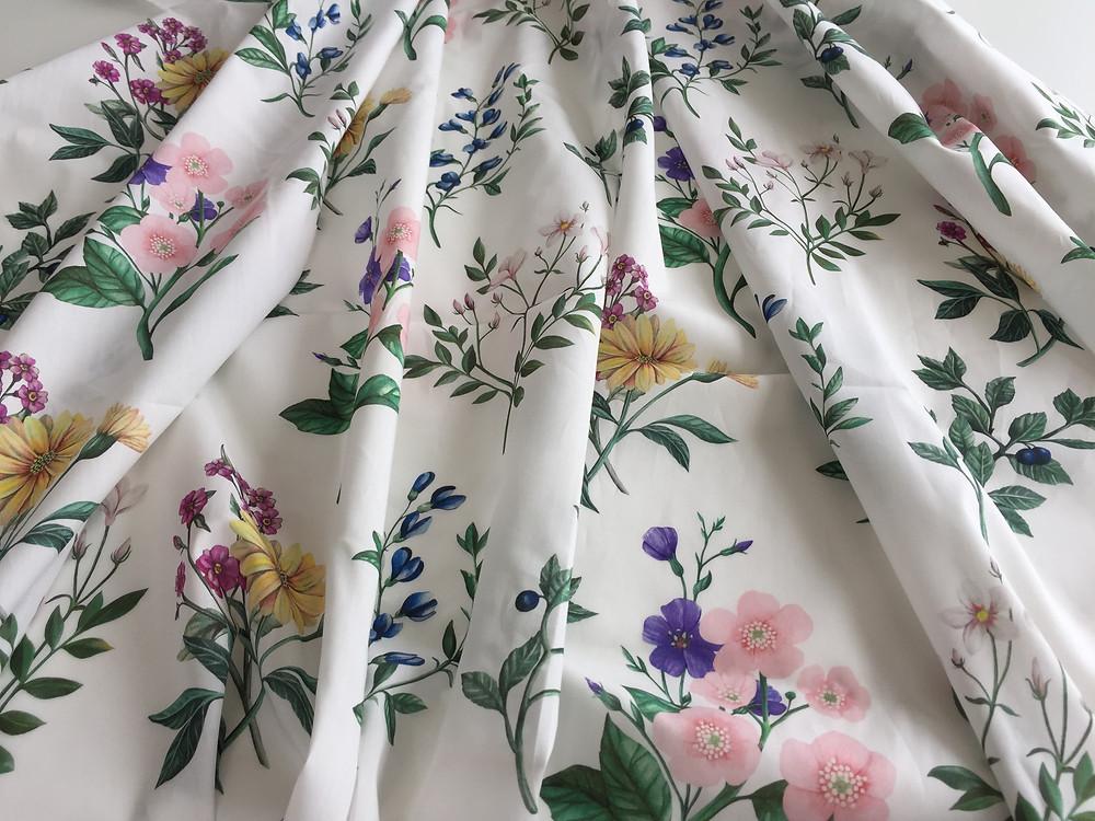 Floral Academy Tana Lawn Cotton Liberty