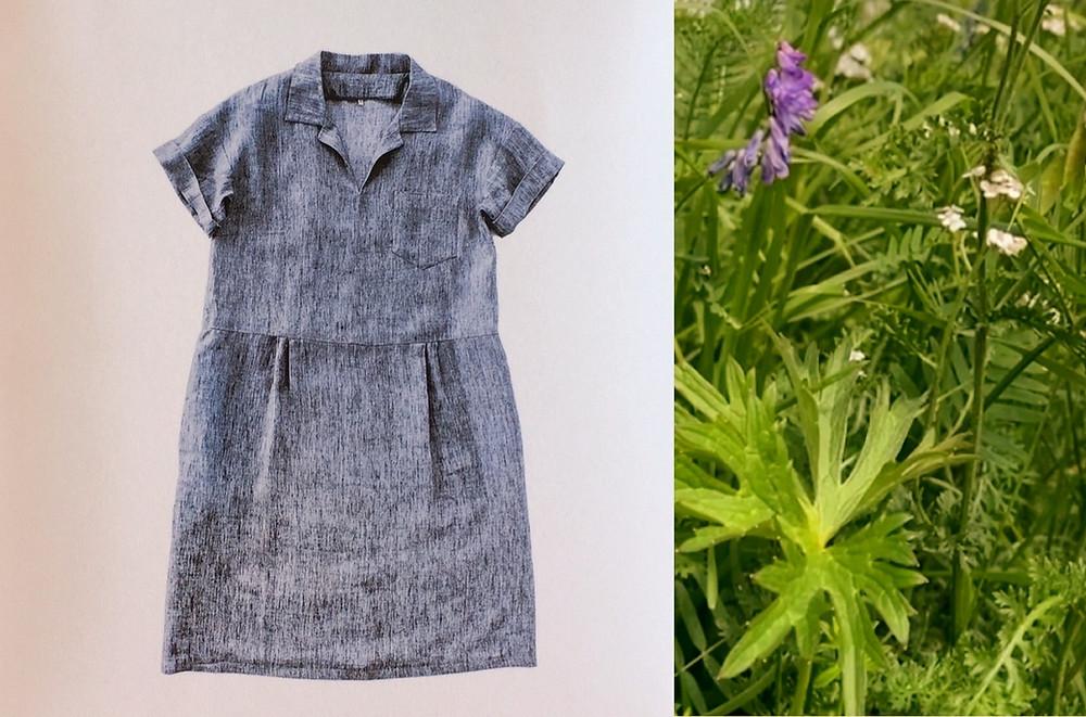 Factory Dress Schnittmuster Leinenkleid