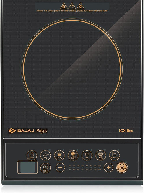 Bajaj Majesty ICX Neo Induction Cooktop (Black)