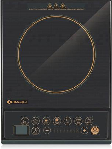 Bajaj ICX 130 Induction Cooktop  (Black, Push Button)