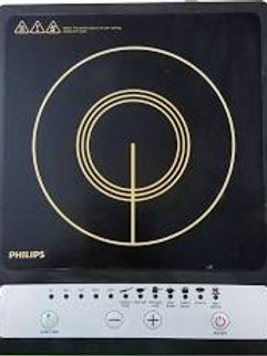 Philips Daily Collection HD4920 1500-Watt Induction Cooktop  (Black, Push Button