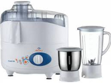 Bajaj Fresh Sip 450-Watt Juicer Mixer Grinder (White)
