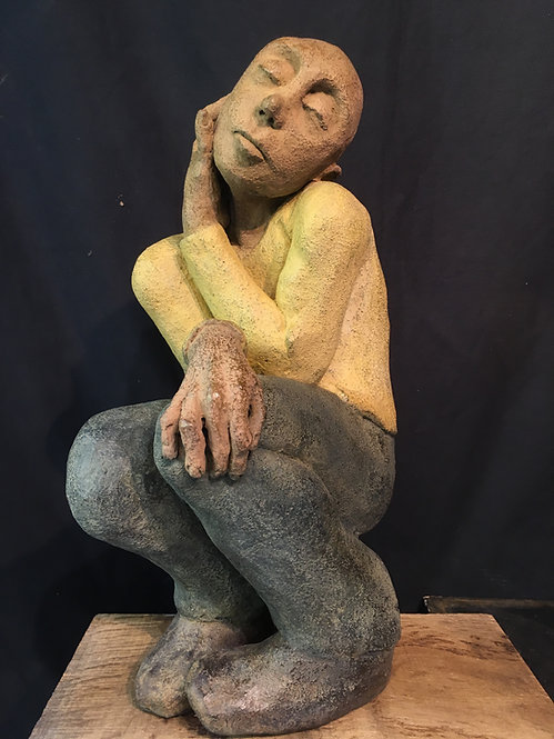 Un coeur à prendre, 2019 - 43 x 25 x 25 cm