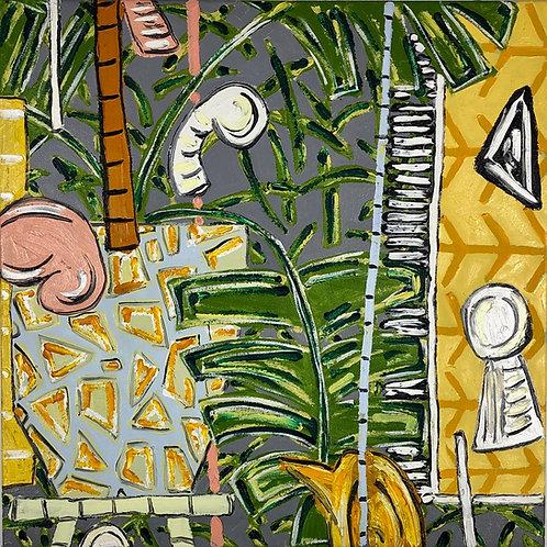 Garden Dreaming, 2020-61 x 61 cm