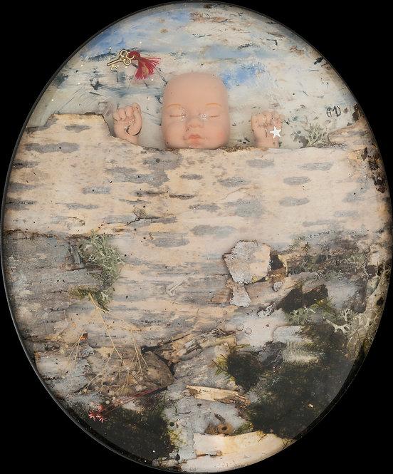 La clé des songes, 2017 - 34 x 26 cm