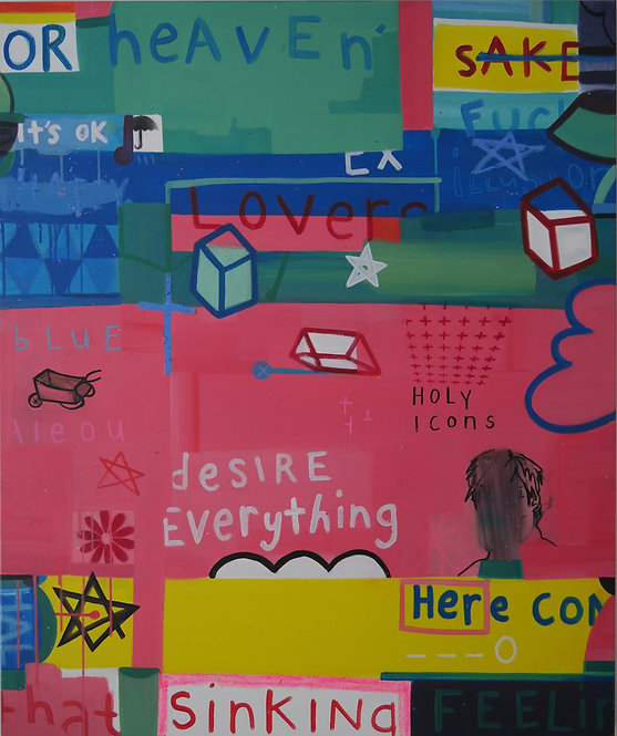 Hope Tryst - Time Vanitas Please (no.2), 2020 - 120 x 100 cm