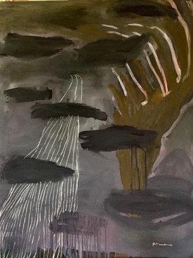 Sans titre, 2019  - 116 x 89 cm
