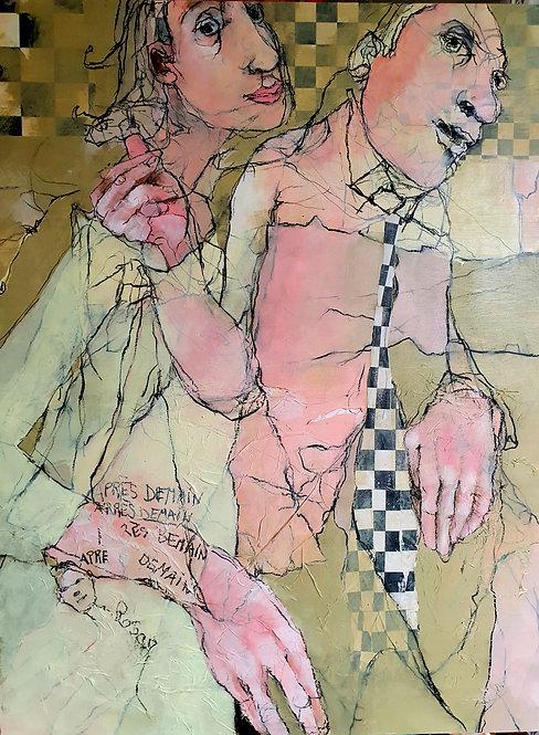La Chenille, 2021 - 102 x 76 x 4 cm