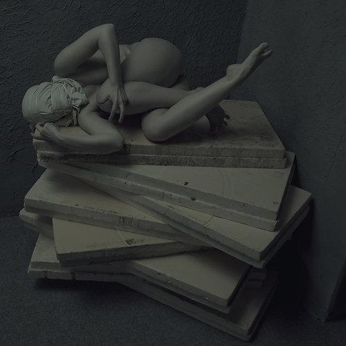 Figure collection : Dark VERSION, 2020 - 100.1 x 100.1 cm