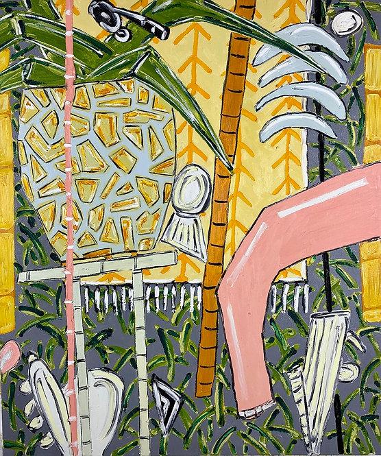 Garden Haze, 2020 - 96.5 x 81 cm