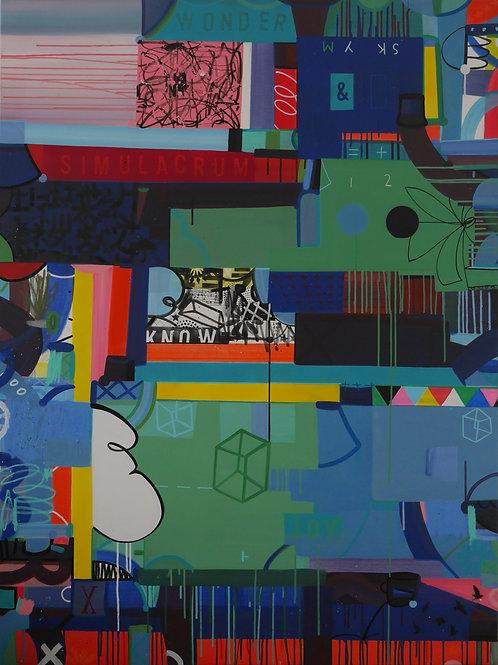 A Future of Language (no.2), 2020 - 160 x 120 cm