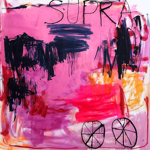 Supra, 2020 - 165 x 165 x 4 cm