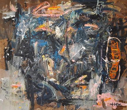 Ni vu ni connu, 2019 - 150 x 170 cm