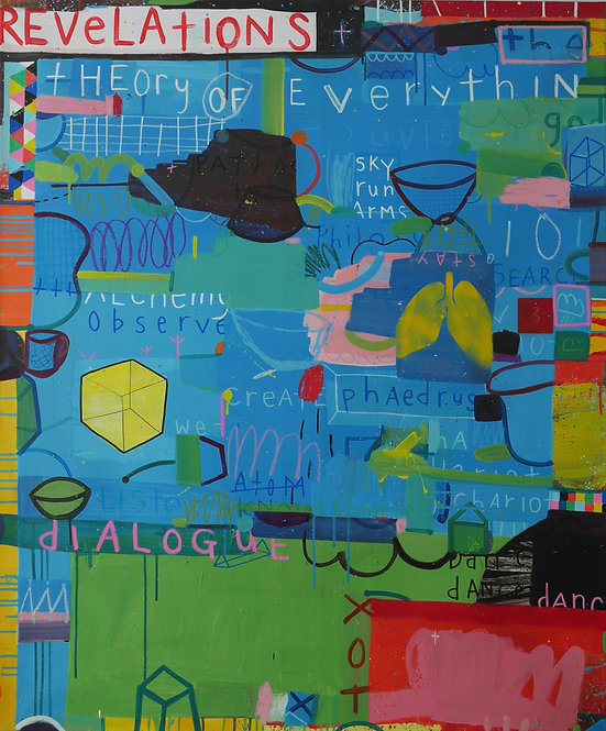 Why Won't Miley Cyrus Ask Me To Dance, Dance, Dance? (no.5), 2020 - 120 x 100 cm