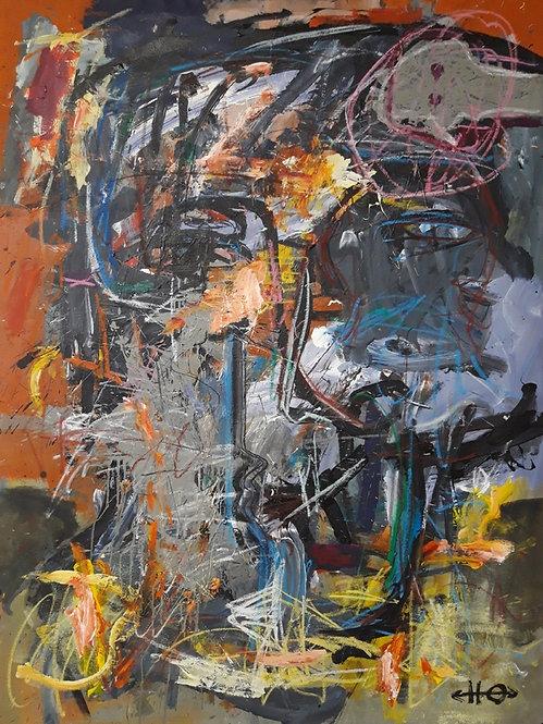 Whisper, 2019 - 150 x 110 cm