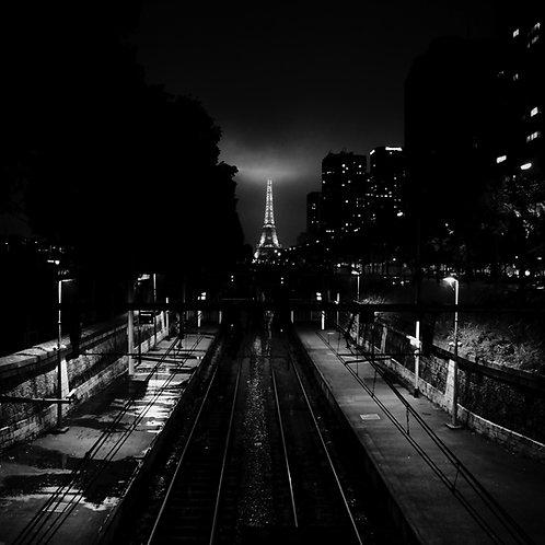 11h53 - 6,09 m, Crue de la Seine, Paris, 2016 - 50 x 50 cm