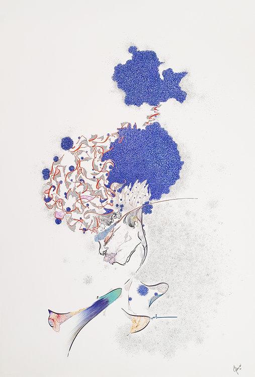 Blossom, 2020-70 x 100 cm