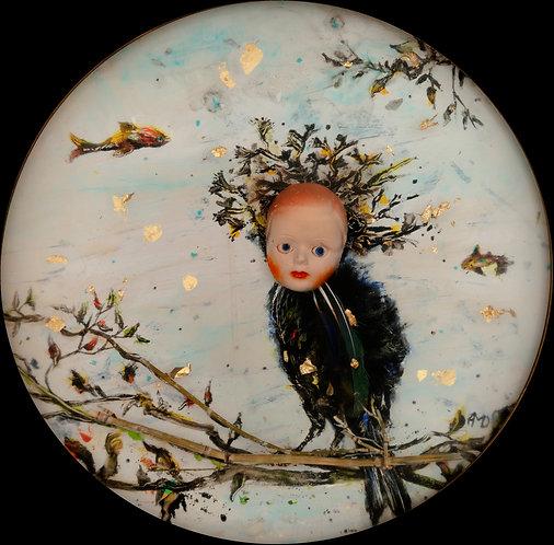 L'Oiseau Rare, 2020 - 22.5 x 22.5 cm