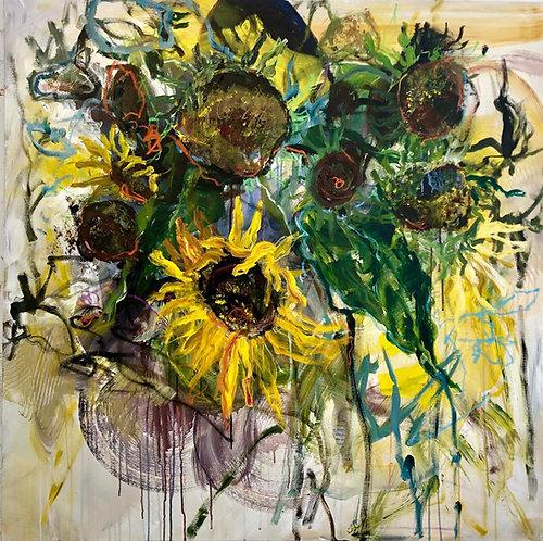 Garden Sounds, 2019 - 121.92 x 121.92 cm