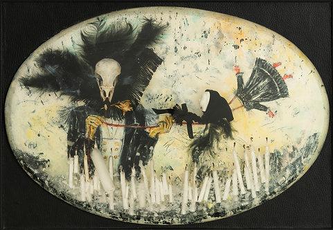 Magie noire, 2017  - 25 x 37 cm