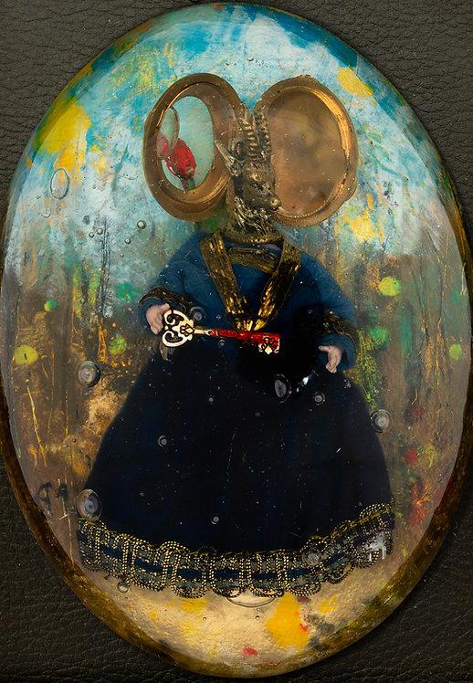 Le secret des Contes, 2017 - 12 x 9 cm