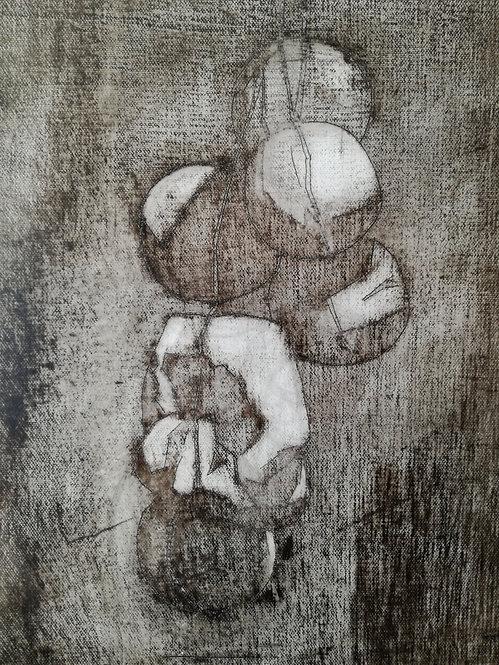 Objet rituel, 2018 - 46 x 38 cm