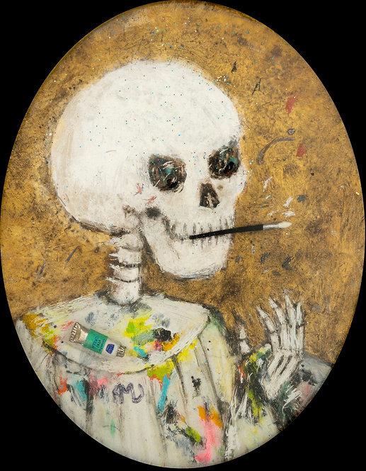 Artiste jusqu'au bout, 2020 - 10 x 8 cm