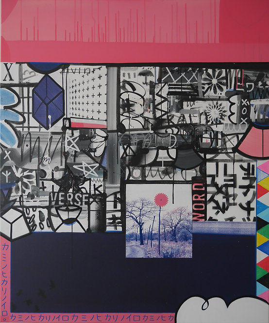 Let's Go To Kabukicho, 2020 - 120 x 100 cm