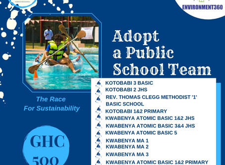 SPONSOR A PUBLIC SCHOOL TEAM, CHANGE THE NARRATIVE!