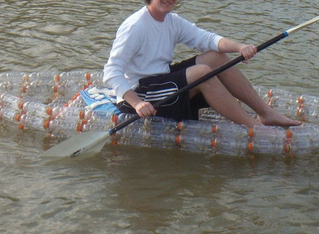 Make a Boat from Recycled Bottles