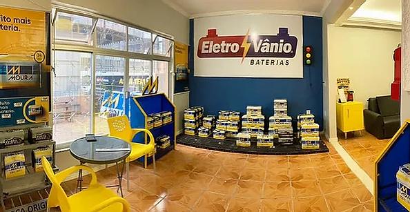 loja de baterias com tele entrega ingles