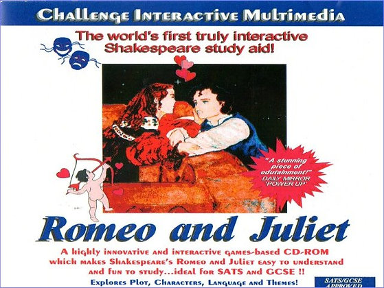 Challenge Romeo and Juliet Stand-Alone CD-ROM