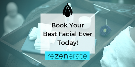 book your best facial ever today