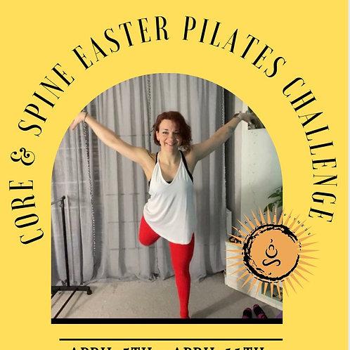 Easter Pilates Challenge