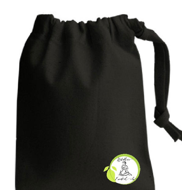 Drawstring Bag in Black for Essentially You Goodies £2