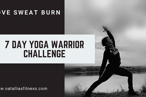 7 Day Yoga Warrior Challenge