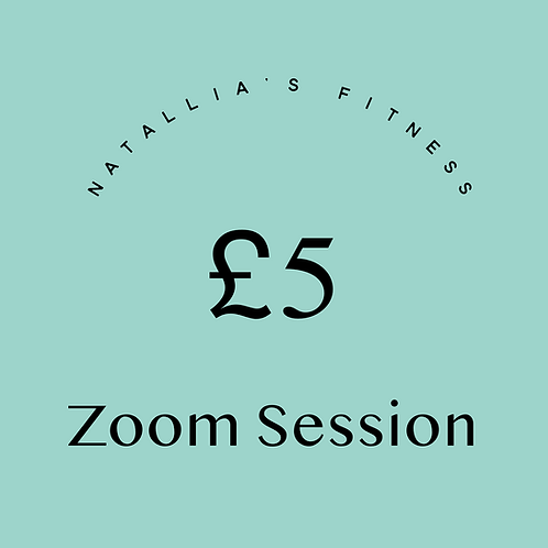 £5 Zoom Session