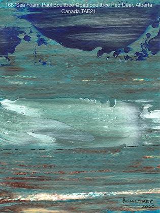168 'Sea Foam' Paul Boultbee @paulboultbee Red Deer, Alberta, Canada TAE21