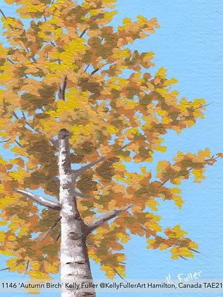 1146 'Autumn Birch' Kelly Fuller @KellyFullerArt Hamilton, Canada TAE21