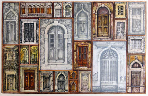 Venice Doorways 5 (©Lesley Brockbank)