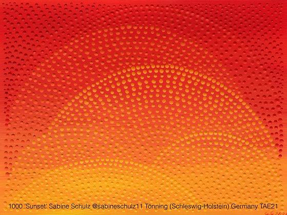 1000 'Sunset' Sabine Schulz @sabineschulz11 Tönning (Schleswig-Holstein) Germany