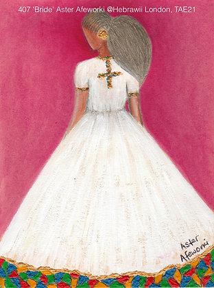 407 'Bride' Aster Afeworki @Hebrawii London, TAE21
