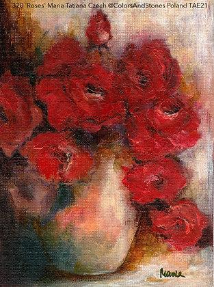320 'Roses' Maria Tatiana Czech @ColorsAndStones Siedlce, Poland TAE21