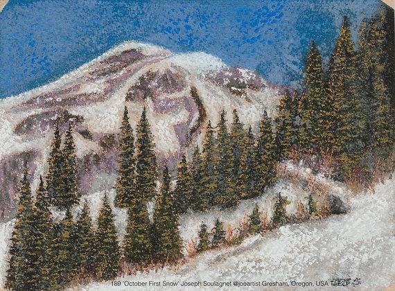 189 'October First Snow' Joseph Soulagnet @joeartist Gresham, Oregon, USA TAE21